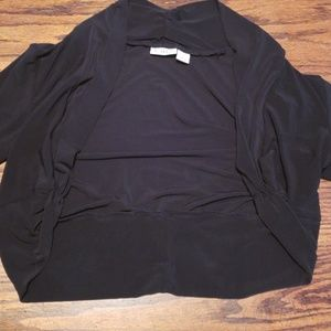 Black short sleeved bolero jacket